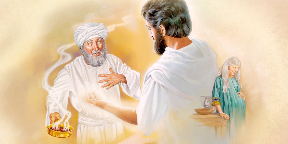 The Angel Gabriel Delivers Messages From God Life Of Jesus