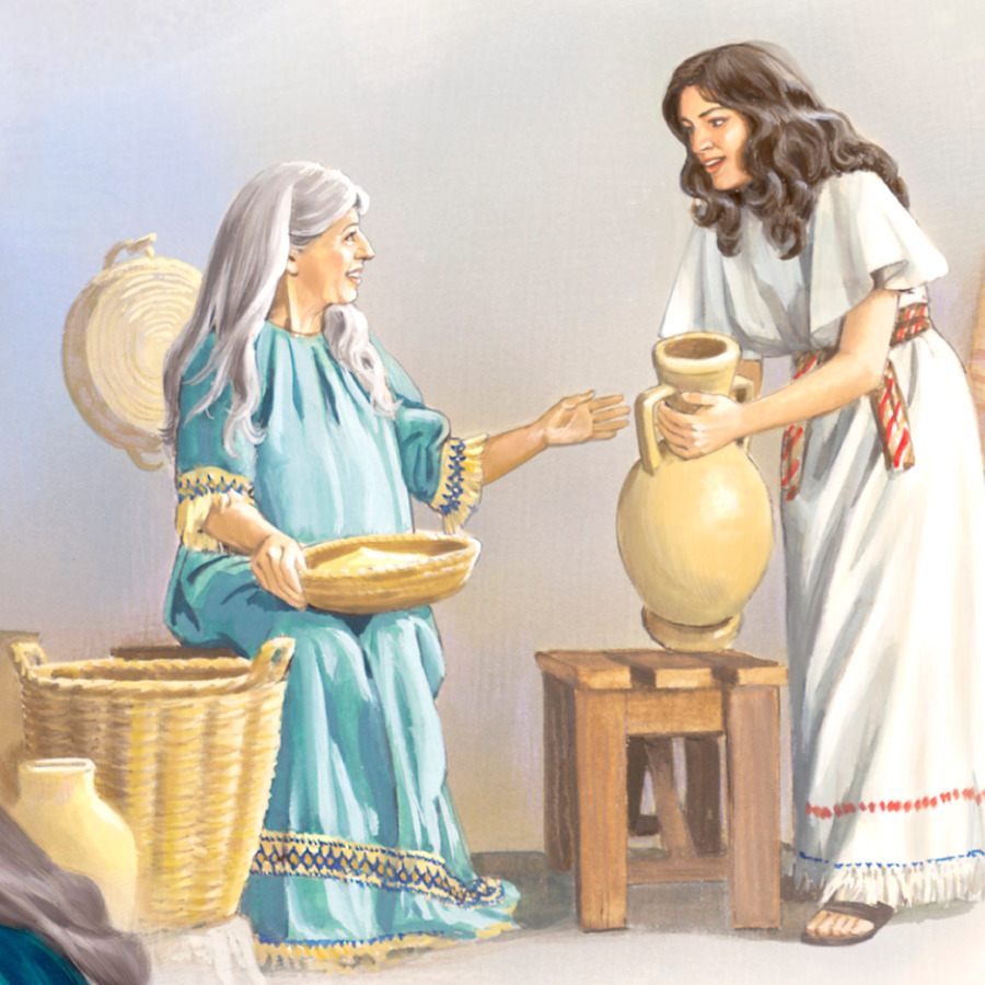 Jesus Is Honored Before His Birth Life Of Jesus