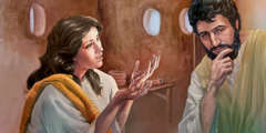 Մարիամը հայտնում է Հովսեփին, որ հղի է