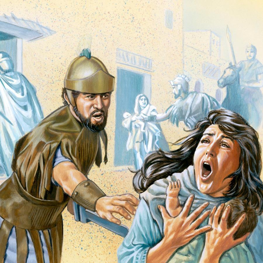 jesus u0027 family flees to egypt life of jesus
