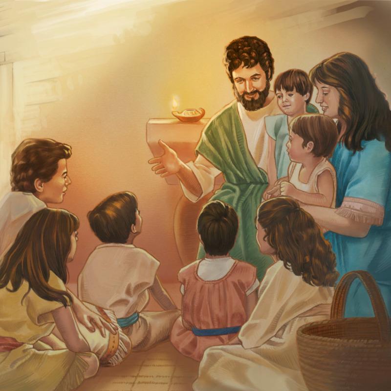Yusiflə Məryəm övladlarına ruhani tərbiyə verirdilər