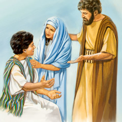 Joseph and Mary find Jesus
