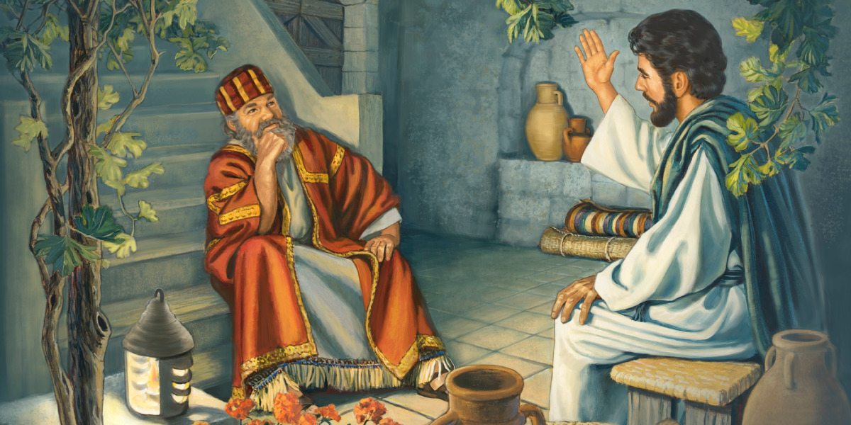 Isus vorbeşte cu Nicodim noaptea