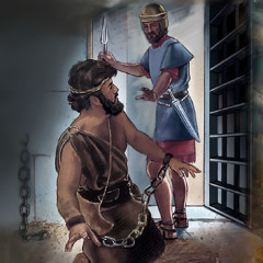 John the Baptist is thrown in prison