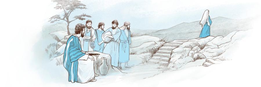 Jesús habla con una mujer samaritana | La vida de Jesús