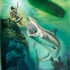 En gigantisk fisk slukar Jona