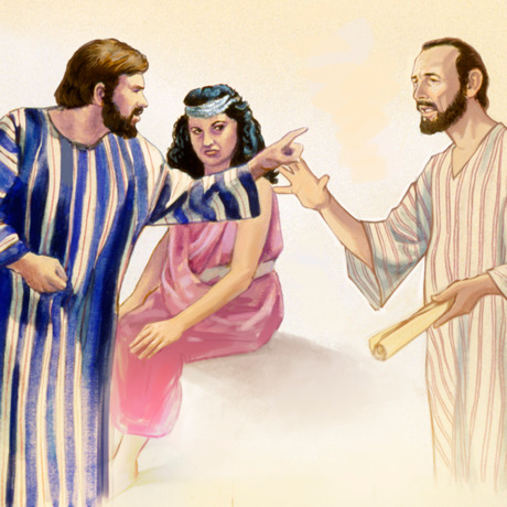 The preaching of a first-century disciple causes division in a family