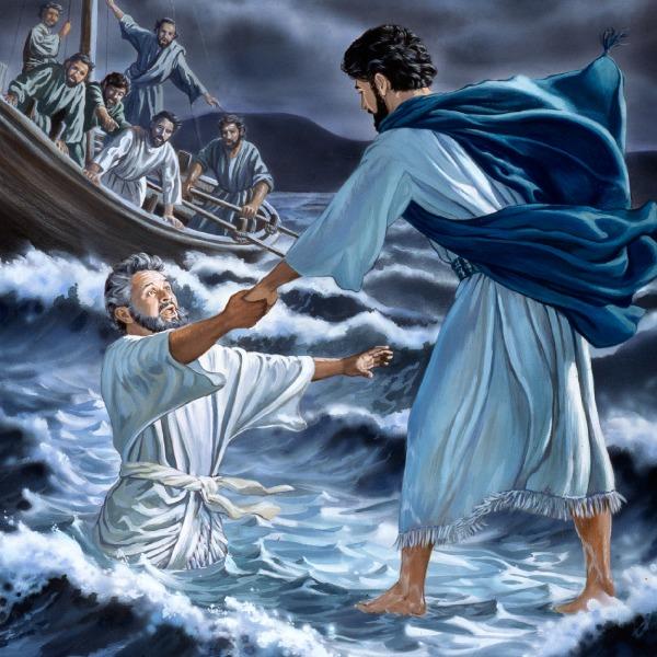 عیسی بر روی آب راه رفت | سرگذشت زندگی عیسی