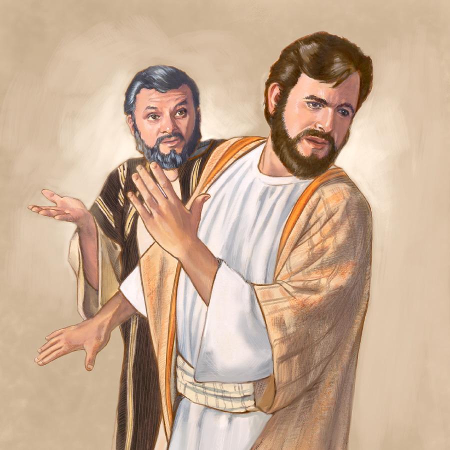 peter identifies jesus and is promised the keys of the kingdom