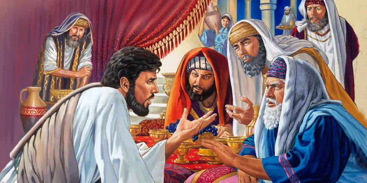 Resultado de imagen de imagenes de Dios hablando con fariseos