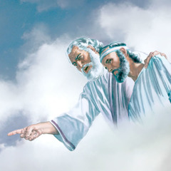 ლაზარე აბრაამთან ერთად