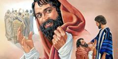 Један од десеторице губаваца које је Исус излечио враћа се да му захвали