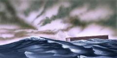 Lumulutang ang arka ni Noe