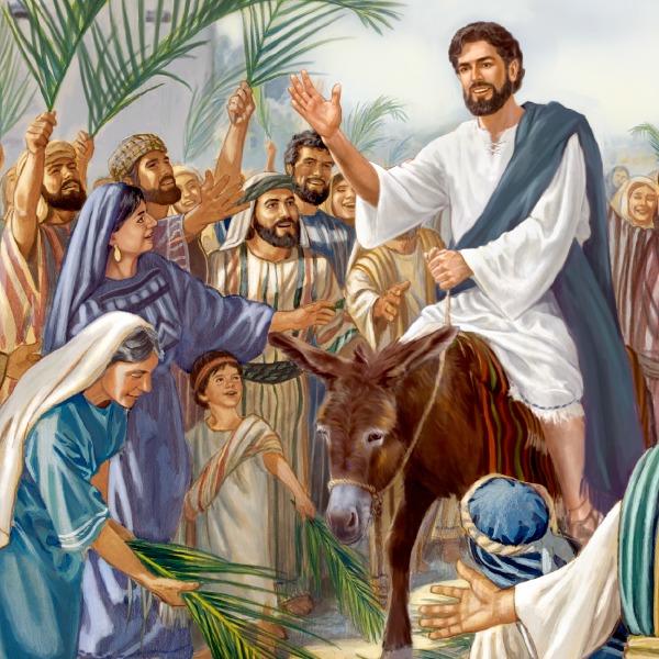 Palmsonntag Bibelstelle