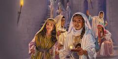 Пет мудрих девица са својим светиљкама