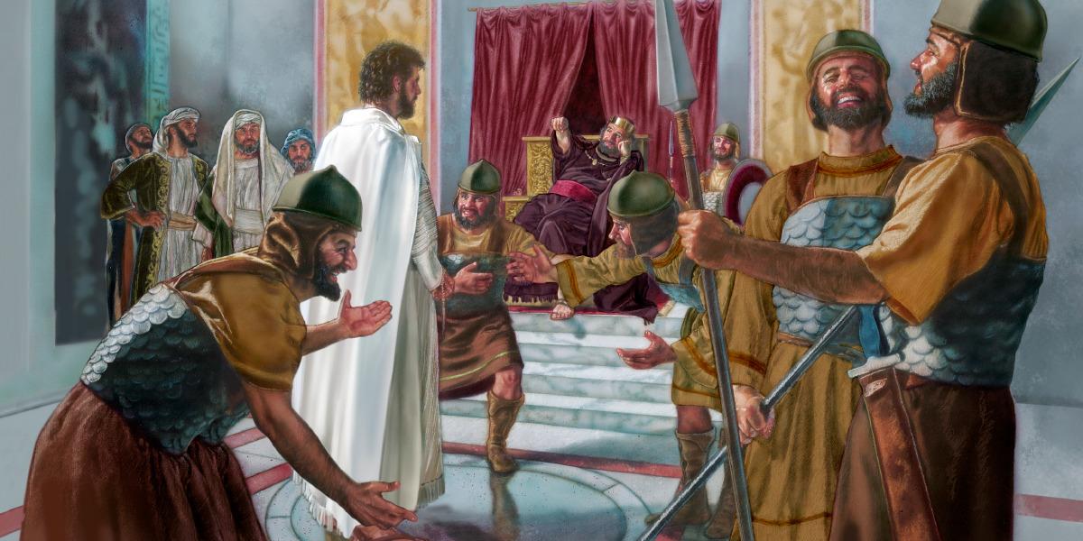 pilate and herod find jesus innocent life of jesus