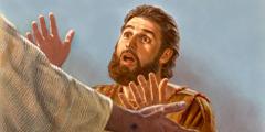 Jezu e fɔ́n sín kú é sɔ́ éɖée xlɛ́ Tɔmáa