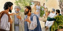 Lärjungar berättar för Jesus om vad de har varit med om under sin tjänst