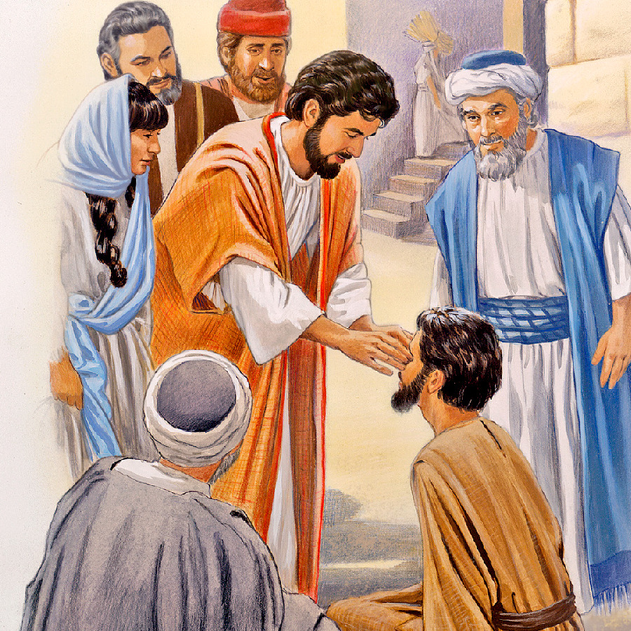 jesus heals a man born blind life of jesus