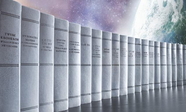 Ejemplares de la Traducción del Nuevo Mundo de las Santas Escrituras en diferentes idiomas
