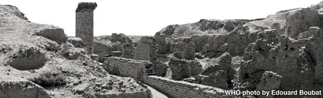 Las ruinas de Babilonia