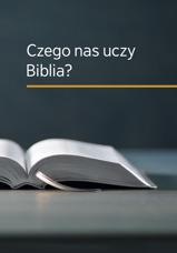 Czego nas uczy Biblia?