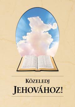 A Közeledj Jehovához! című könyv borítója