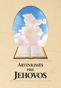 """Knygos """"Artinkimės prie Jehovos"""" viršelis"""