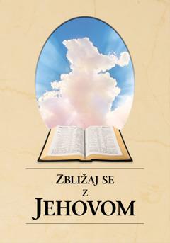 Naslovnica knjige Zbližaj se z Jehovom