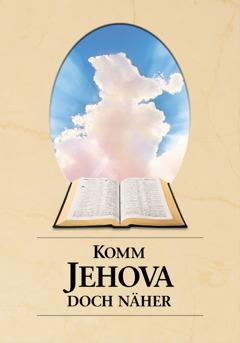 """Titelseite des Buches """"Komm Jehova doch näher"""""""