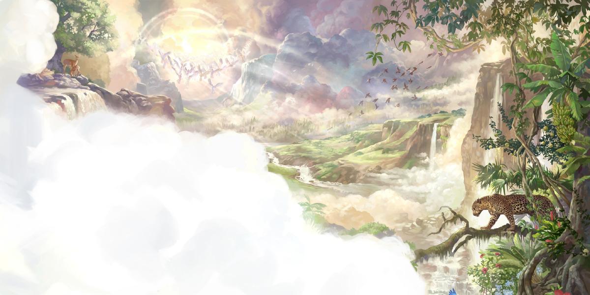 Dios Hace El Cielo Y La Tierra Lecciones De La Biblia Para Niños