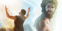 قايين غضبان فيما يقدم هابيل قربانا ليهوه