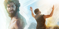 Cain is angry when Abel makes his offering to Jehovah