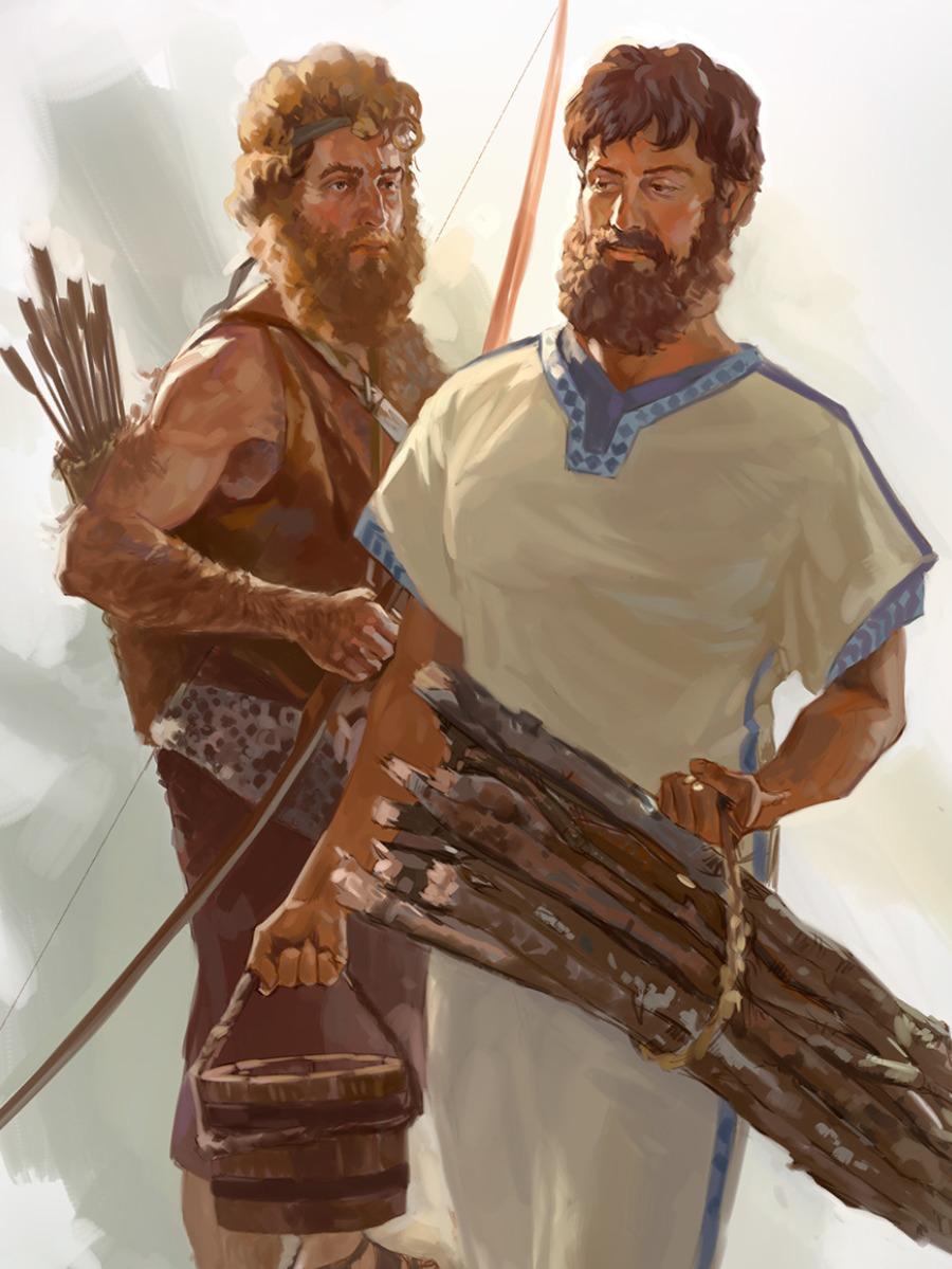 Jacob, Esaú y la herencia | Lecciones de la Biblia para niños