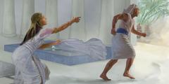يوسف يهرب من زوجة فوطيفار