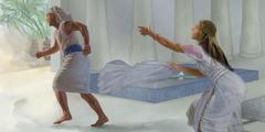 Josif beži od Petefrijeve žene