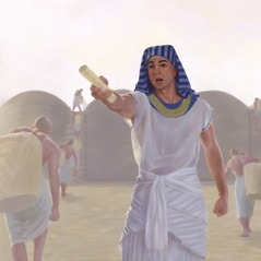 Joseph directs men to store up food