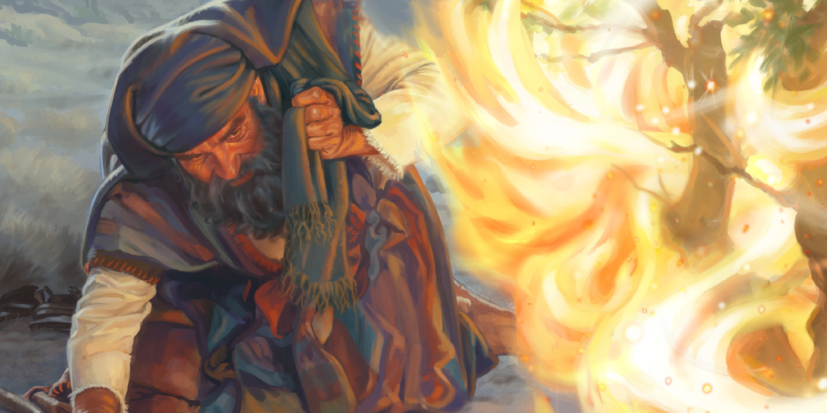 Moses and the Burning Bush | Children's Bible Lessons