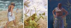 Sjuende til niende plage i Egypt: hagl; gresshopper; mørke