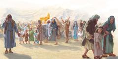 الاسرائيليون يرقصون ويغنون حول العجل الذهبي