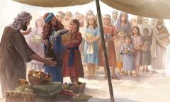 الاسرائيليون يجلبون هدايا لبناء المسكن