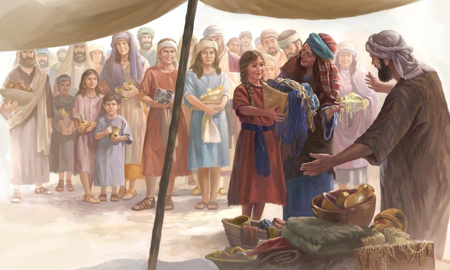 El Tabernáculo De Los Días De Moisés Lecciones De La Biblia Para Niños