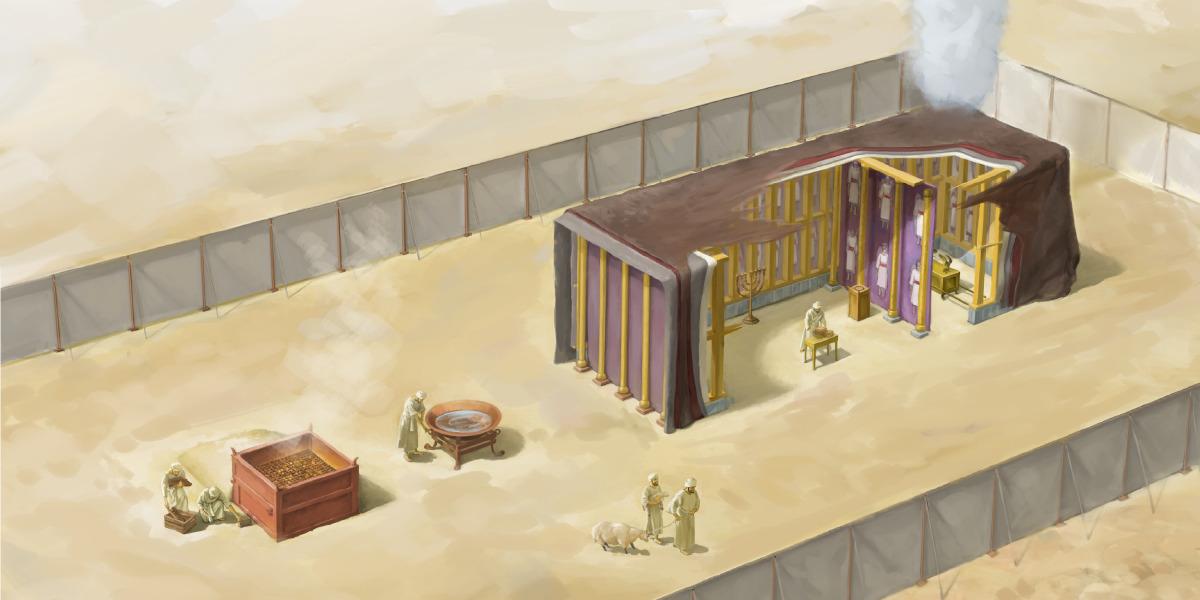 Ja Tabernáculo Ja B'a Styempo Ja Moisés Sjejelik B'a Biblia Sb'aja