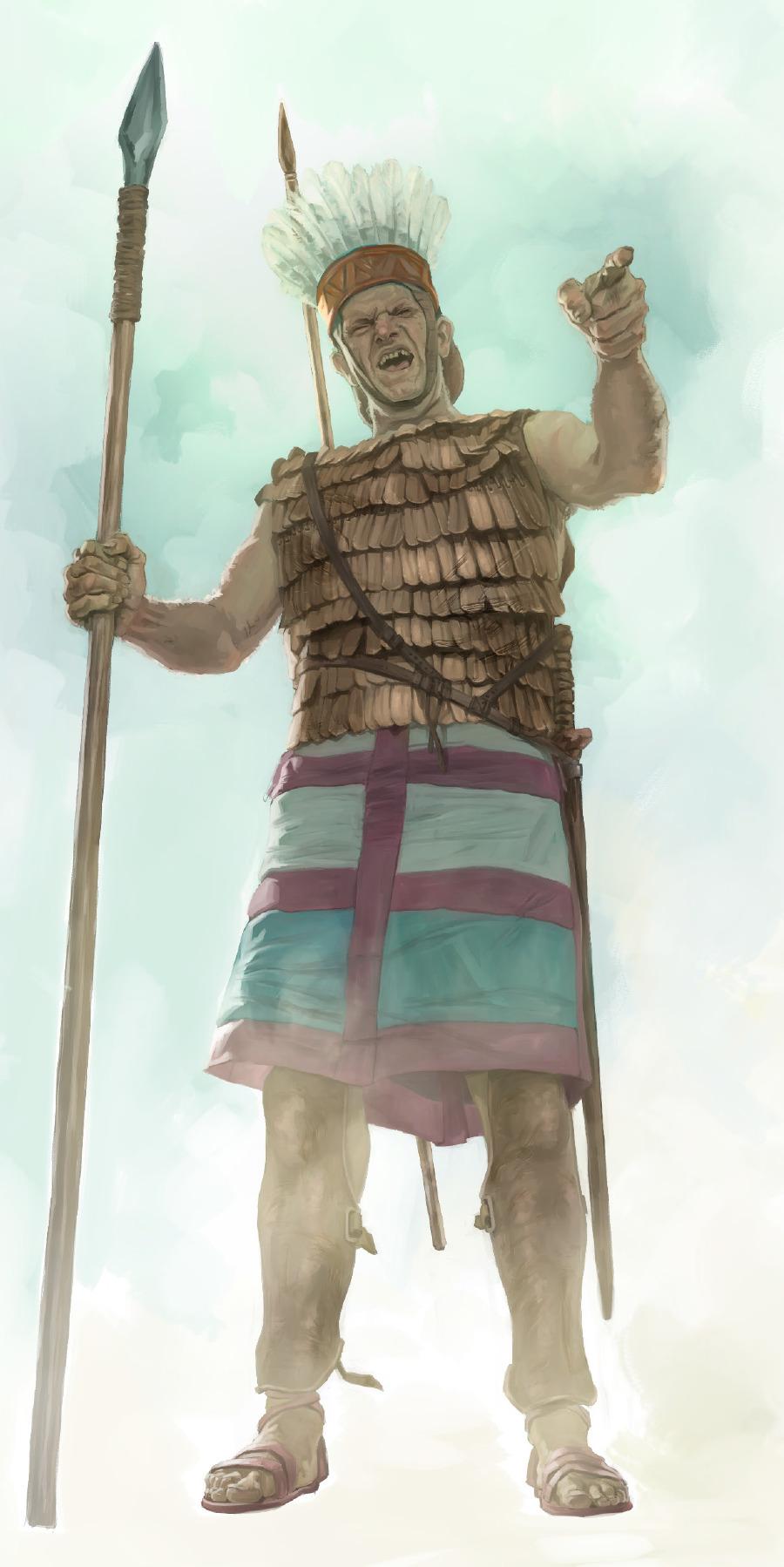 David y Goliat | Lecciones de la Biblia para niños