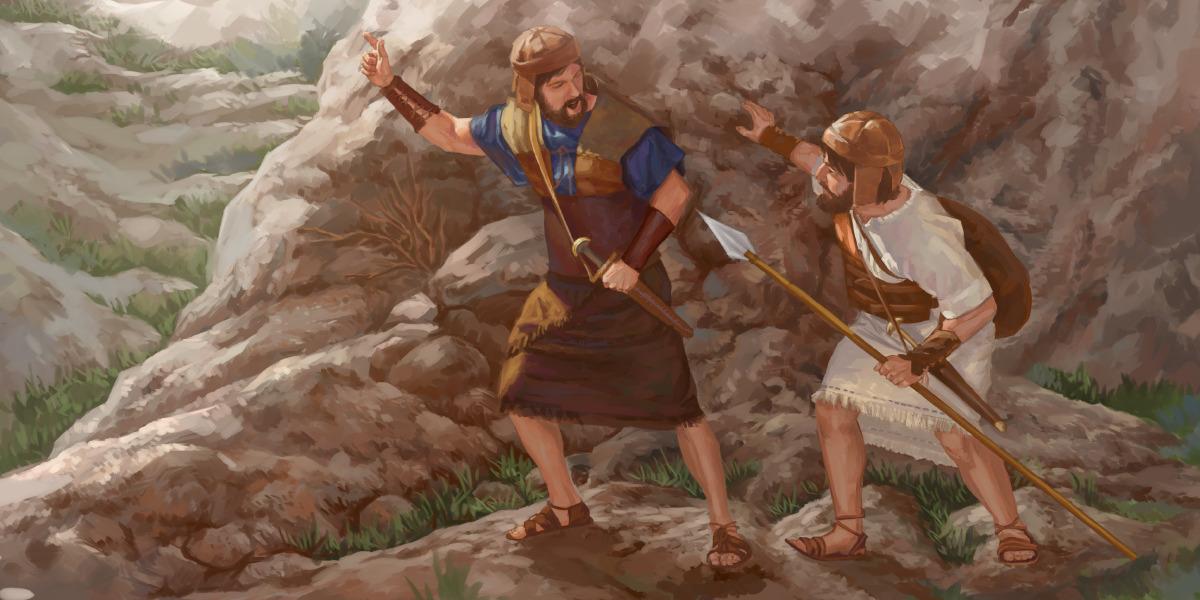 El valiente Jonatán es un amigo leal de David | Lecciones de la ...