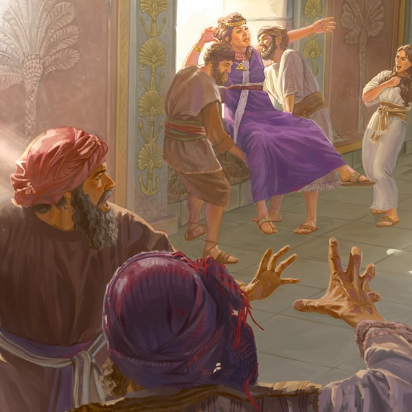 King Ahab and Queen Jezebel —Wickedness is Punished | Children's