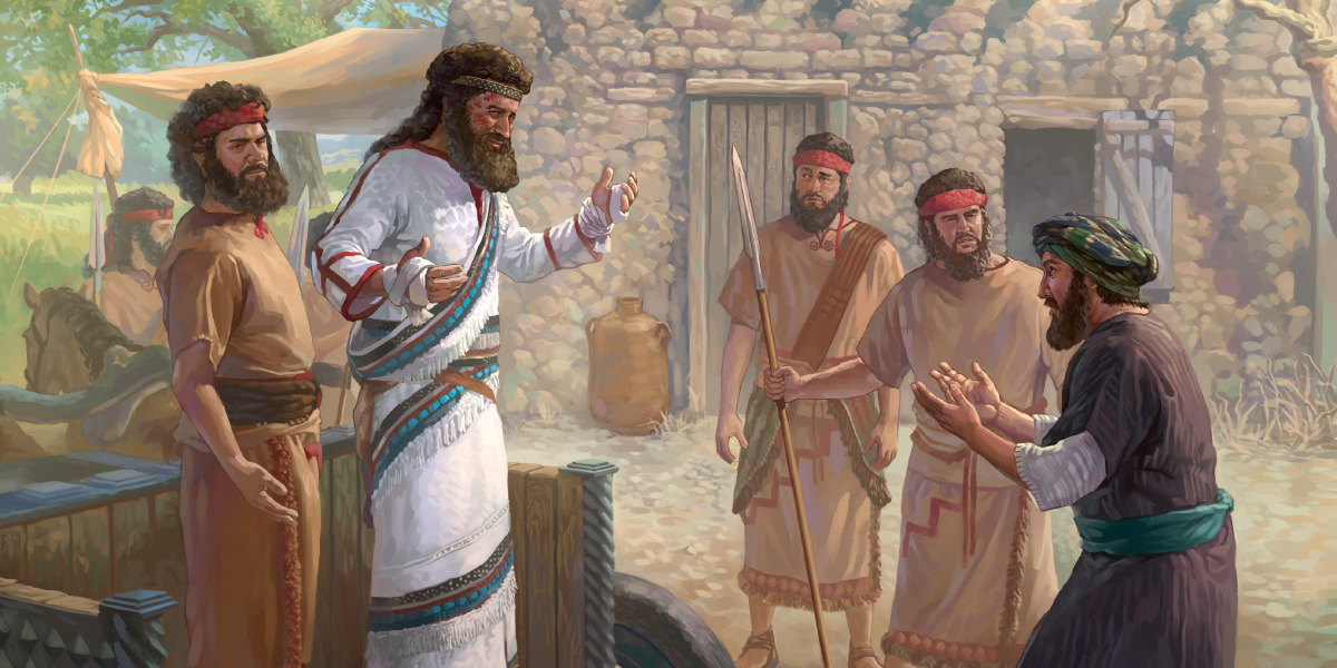 Naaman the Warrior Listens to an Israelite Girl | Children's Bible Lessons