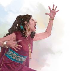 Kraliçe Atalya bağırıyor