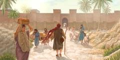 Jona ateina į Ninevę