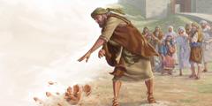 ارميا يكسر جرة من فخار امام الشيوخ
